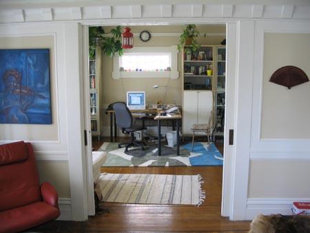 科尔街公寓-从客厅看书房