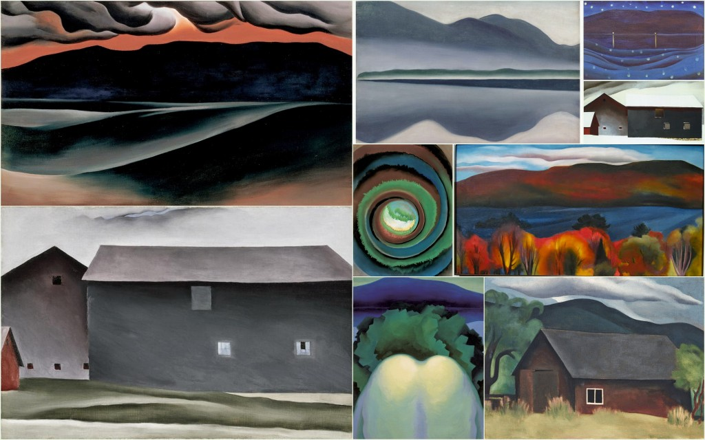 Modern Nature- Georgia O'Keeffe and George Lake1