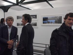 Alain Genestar(left)