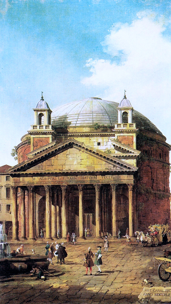 canaletto_Pantheon