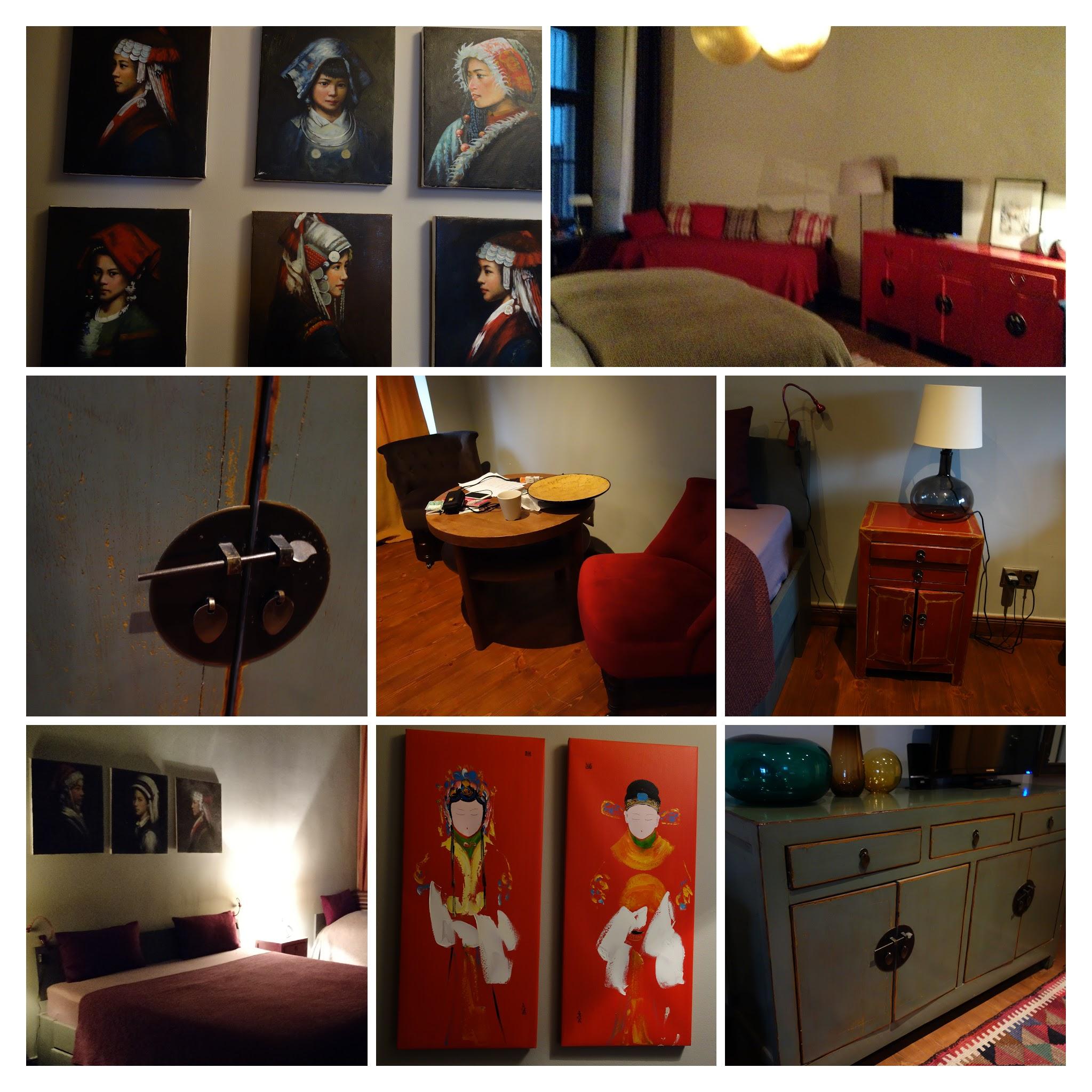 Berlin住地卧室 -COLLAGE